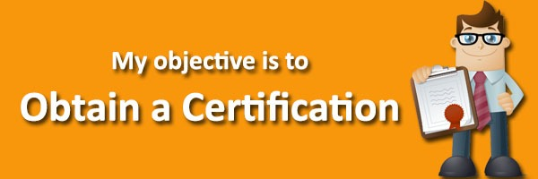 obtain certification